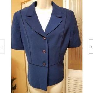 Kasper Ladies Lovely Blue Jacket